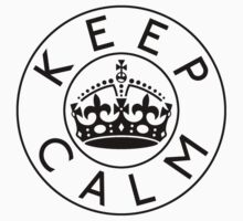 KEEP CALM ROUNDEL xi by GraceMostrens