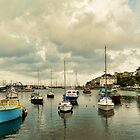 Brixham harbour by shalisa