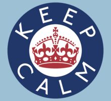 KEEP CALM ROUNDEL xvii by GraceMostrens