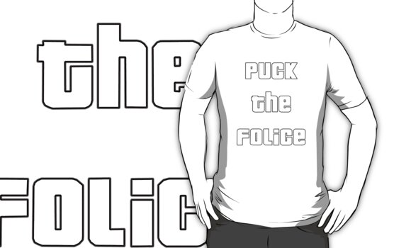 Puck the Folice (gta Font) Design by Oscar Gonzalez
