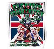 Electric Frankenstein 1999 UK Tour Poster Poster