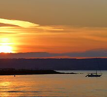 Sunset Over Bangor Bay by Fara