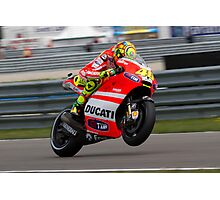 Valentino Rossi in Assen 2011 Photographic Print