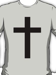 Cross t-shirt/hoodie/sticker T-Shirt