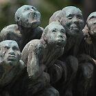 TOKYO, JAPAN - Statue artwork in Asakusa by jsafford