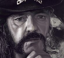 Lemmy Kilmister by firehazzard