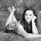 Playing in the Hay by Rachel Meyer