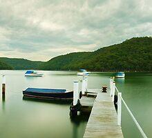 Gosford Pier, New South Wales, Australia by Michael Boniwell