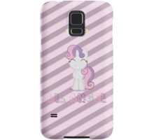 Lil Angel (Sweetie Belle) Samsung Galaxy Case/Skin