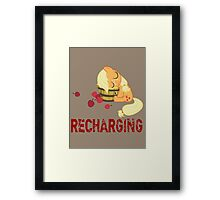 Recharging Framed Print