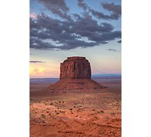 Monument Valley - Merrick Butte  Photographic Print
