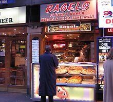 Bagel Kebab Stand, London by Carol Singer