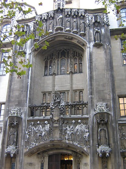 Supreme Court, London by Carol Singer