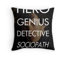 Consulting Detective Throw Pillow
