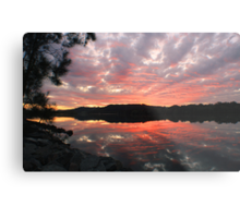 reflecting on the river ... Metal Print