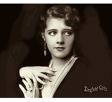 Ziegfeld Girls ... Ruby Keeler 1929 Photographic Print
