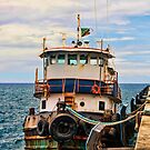 Old Tug by dbvirago