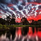 Lake Annand Toowoomba Sunset by Tim Swinson