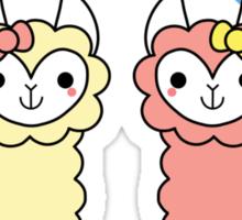 Adorable Llama Pride No Lettering Sticker