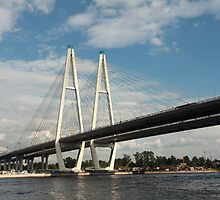 cable-stayed bridge by mrivserg