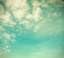 Vinatge - Retro Blue Sky by Andreka