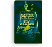 The Damned Poster Canvas Print