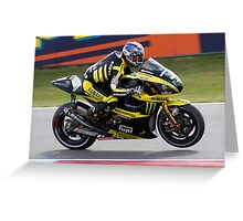 Colin Edwards at Assen 2011 Greeting Card