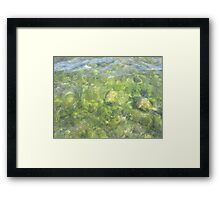 Rippled Water Framed Print
