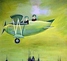 Flight by Marianna Tankelevich