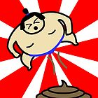 Flying Fart Sumo by McLovely