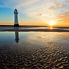 New Brighton Sunset by Andrew Walker