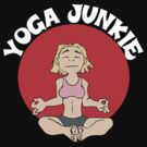 Funny Women's Yoga T-Shirt - Dark by T-ShirtsGifts