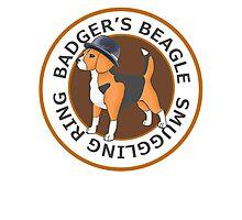 Badger's Beagle Smuggling Ring V2.0 Photographic Print