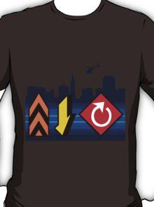 Up, Down, & All Around - Speed Highway T-Shirt