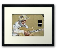 Air on the Flamenco String Framed Print