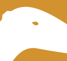 Dinosaur Family Crest: Saurolophinae Sticker