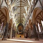 Lincoln Cathedral (Inside) by Jack Thomas