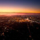 Melbourne dawn at 3,000 feet by clickedbynic