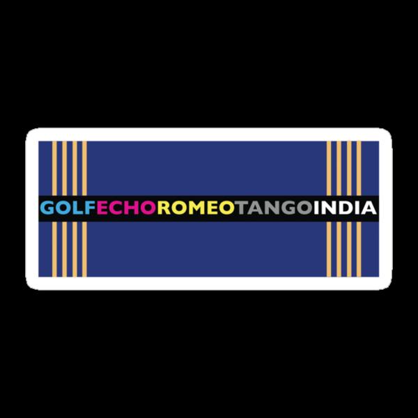 GOLF-ECHO-ROMEO-TANGO-INDIA by ForeignType