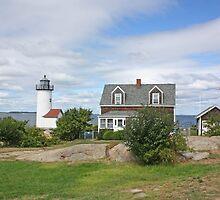 Annisquam Harbor Lighthouse by Jack Ryan