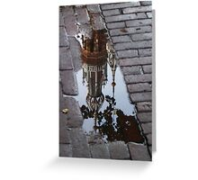 Fallen into the Puddle Greeting Card
