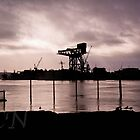 Rig at Dawn by Adam Northam