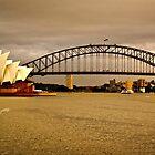 Sydney Harbor 1 by Adam Northam