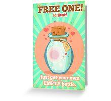 Free Hearts Greeting Card