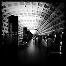 Metro with Open Doors by M. Dean Jones