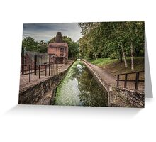 The Shropshire Canal Greeting Card