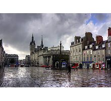 Aberdeen in the rain Photographic Print