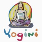 Yogini T-Shirt by T-ShirtsGifts