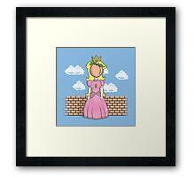 The Princess of Peach Framed Print