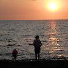 Enjoying Sunset by hrunbike